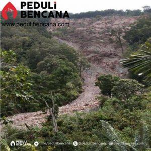Tanah Longsor Kulawi Akses Bantuan Terhenti