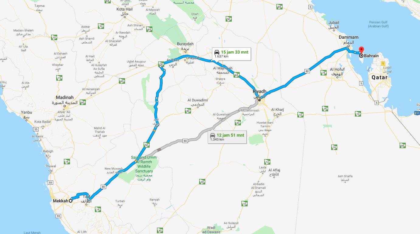 bahrain ke Mekkah - delapan pintu surga