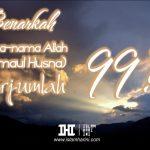 Nama-nama Allah (Asmaul Husna) Berjumlah 99