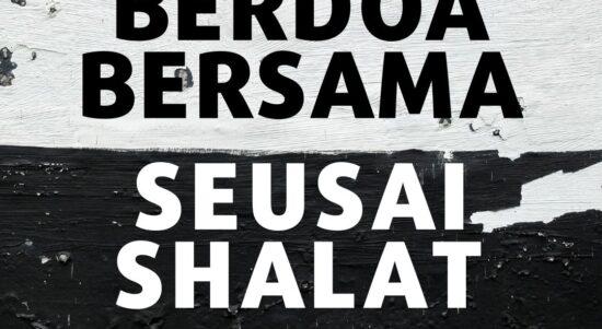 Hukum Berdoa Bersama Seusai Shalat