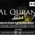 Al Quran adalah makhluk