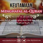 Keutamaan Bagi Orang Tua yang Mengajari Anaknya Menghafal al-Quran