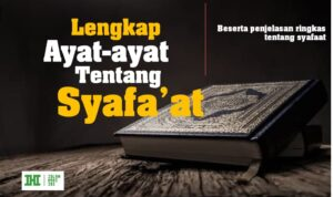 Ayat-ayat Tentang Syafaat Beserta Penjelasannya